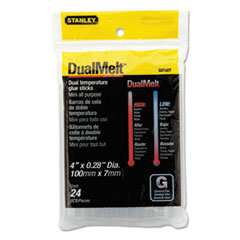 BOS GS10DT Stanley Dual Temperature Mini Glue Sticks BOSGS10DT