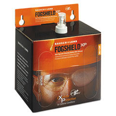 BAL 8577 Bausch & Lomb Sight Savers FogShield Extreme Protection Disposable Safety Lens Cleaning Station BAL8577