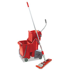 UNG SMFPR Unger Side-Press Restroom Mop Bucket FloorPack UNGSMFPR
