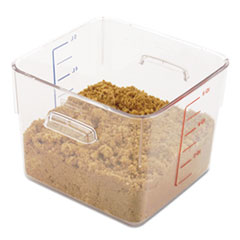 RCP 6306CLE Rubbermaid Commercial SpaceSaver Square Containers RCP6306CLE