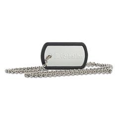 VER 98505 Verbatim Dog Tag USB Flash Drive VER98505