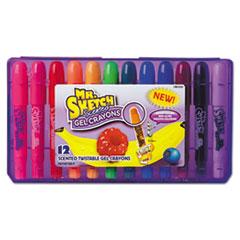 SAN 1951333 Mr. Sketch Scented Gel Crayons SAN1951333