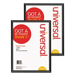 UNV 76870CT Universal Black Poster Frame UNV76870CT