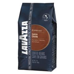 LAV 4202 Lavazza Super Crema Whole Bean Espresso Coffee LAV4202