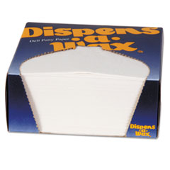 DXE 434BX Dixie Dispens-A-Wax Waxed Deli Patty Paper DXE434BX