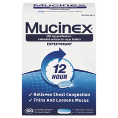 RAC 00815 Mucinex Expectorant Regular Strength RAC00815