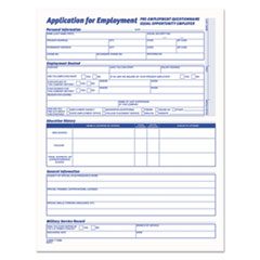 TOP 3288 TOPS Comprehensive Employee Application Form TOP3288