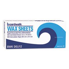 BWK DELI12BX Boardwalk Interfold-Sheet Deli Paper BWKDELI12BX