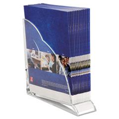 SWI 10133 Swingline Stratus Acrylic Magazine Rack SWI10133