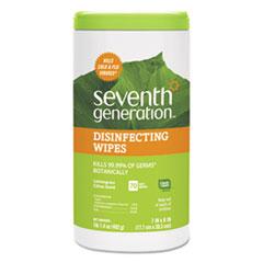 SEV 22813EA Seventh Generation Botanical Disinfecting Wipes SEV22813EA