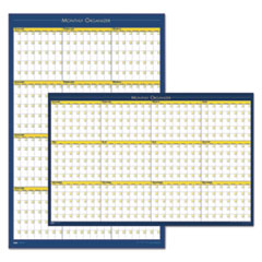 HOD 642 House of Doolittle 100% Recycled 12-Month Laminated Wall Planner HOD642