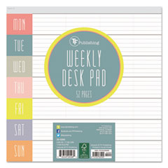 TFB 200265 TF Publishing Glory Days Weekly Desk Pad TFB200265