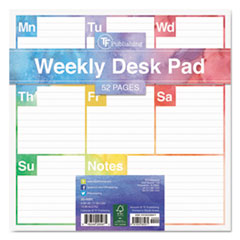 TFB 200081 TF Publishing Elements Weekly Desk Pad TFB200081