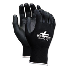 CRW 9669XS MCR Safety Economy PU Coated Work Gloves CRW9669XS