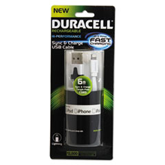 ECA DU1311 Duracell Sync and Charge Cable ECADU1311