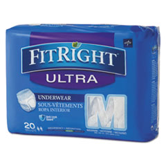 MII FIT23005ACT Medline FitRight Ultra Protective Underwear MIIFIT23005ACT