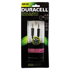 ECA PRO711 Duracell Stereo Audio Cable ECAPRO711