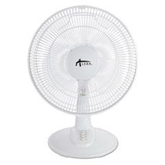 """ALE FAN122W Alera 12"""" 3-Speed Oscillating Desk Fan ALEFAN122W"""