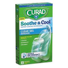 MII CUR5235 Curad Soothe & Cool Clear Gel Bandages MIICUR5235
