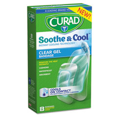 MII CUR5236 Curad Soothe & Cool Clear Gel Bandages MIICUR5236