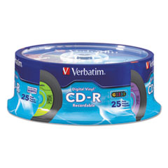 VER 94488 Verbatim CD-R Digital Vinyl Recordable Disc VER94488