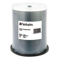 VER 95251 Verbatim CD-R Printable Recordable Disc VER95251