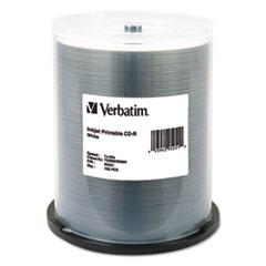 VER 95251 Verbatim CD-R Printable Recordable Disc VER95251