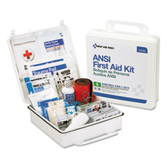 FAO 90566 First Aid Only Bulk ANSI 2015 Compliant First Aid Kit FAO90566