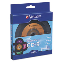 VER 97935 Verbatim CD-R Digital Vinyl Recordable Disc VER97935