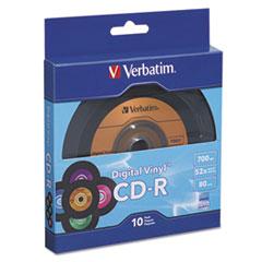 VER 97935 Verbatim CD-R Digital Vinyl Recordable Disc VER97935