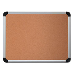 UNV 43713 Universal Deluxe Cork Board with Aluminum Frame UNV43713
