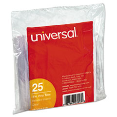 UNV 43313 Universal Hanging File Folder Plastic Index Tabs UNV43313