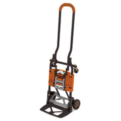CSC 12222BGO1E Cosco 2-in-1 Multi-Position Hand Truck and Cart CSC12222BGO1E