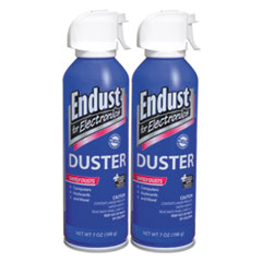 END 13265 Endust for Electronics Compressed Air Duster END13265