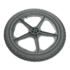 RCP M1564200 Rubbermaid Commercial Wheel for 5642, 5642-61 Big Wheel Cart RCPM1564200