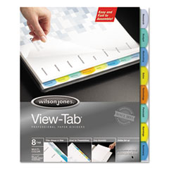 WLJ 55965 Wilson Jones View-Tab Paper Index Dividers WLJ55965