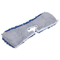 QCK 720784M6 Quickie Flip & Shine Microfiber Floor Mop Refill QCK720784M6