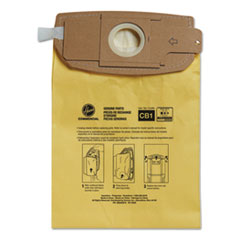 HVR AH10273 Hoover Commercial Disposable Vacuum Bags HVRAH10273