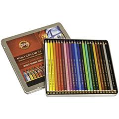 KOH FA381824OT Koh-I-Noor Polycolor Drawing Pencils KOHFA381824OT