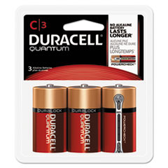 DUR QUC3RFPPK Duracell Quantum Alkaline Batteries DURQUC3RFPPK
