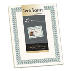 SOU CT3R Southworth Parchment Certificates SOUCT3R