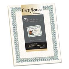 SOU CT3R Southworth Parchment Certificates SOUCT3R