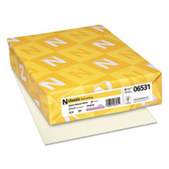 NEE 06531 Neenah Paper CLASSIC Laid Stationery Writing Paper NEE06531