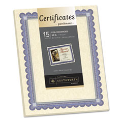 SOU CT1R Southworth Parchment Certificates SOUCT1R