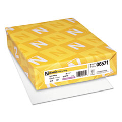 NEE 06571 Neenah Paper CLASSIC Laid Stationery Writing Paper NEE06571