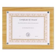 NUD 18867 NuDell Magnetic Series Woodgrain Plaque NUD18867