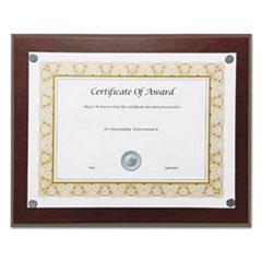 NUD 18868 NuDell Magnetic Series Woodgrain Plaque NUD18868