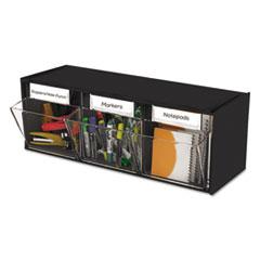 DEF 20304OP deflecto Tilt Bin Interlocking Multi-Bin Storage Organizer DEF20304OP