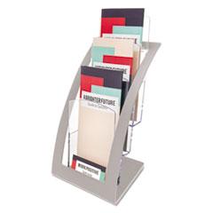 DEF 693645 deflecto Three-Tier Contemporary Literature Holder DEF693645