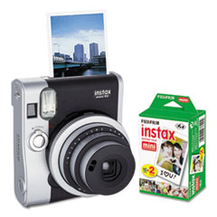 FUJ 600016090 Fujifilm Instax Mini 90 Neo Classic Camera Bundle FUJ600016090